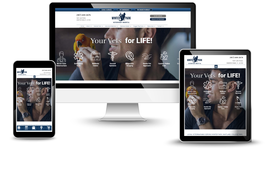 Veterinary Website Design